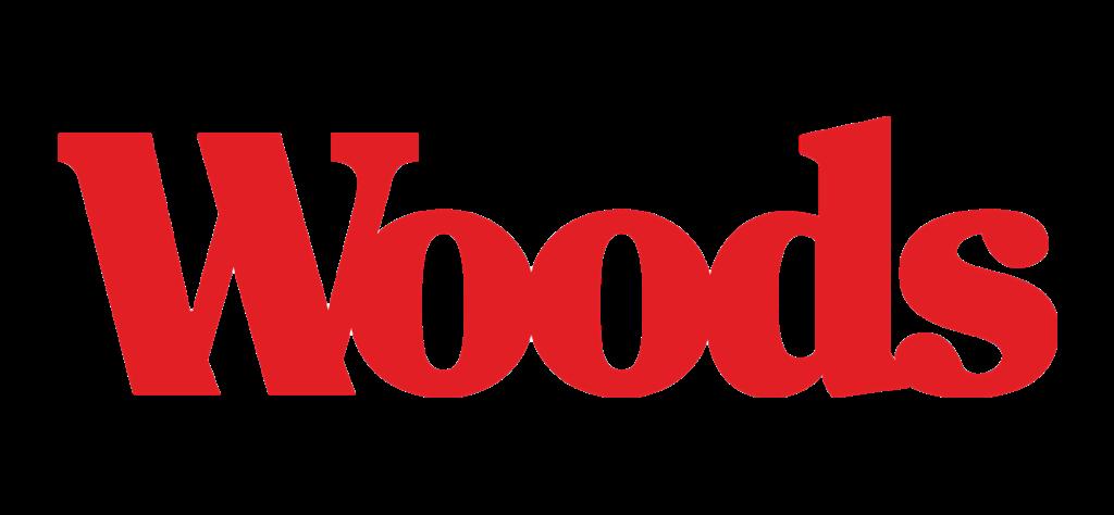 A theme logo of Woods Supermarket