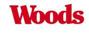 A theme logo of Woods Supermarket