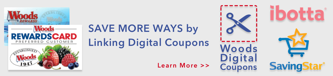 Save More Ways By Linking Digital Coupons