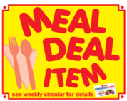 Woods Supermarket Meal Deal Tag