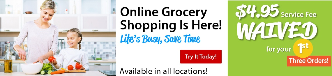 Online Grocery Shopping Annoucement-100