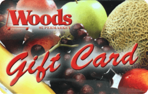 woods supermarket gift card