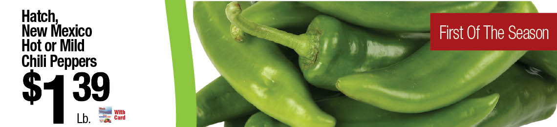 Hatch, New Mexico Chili Peppers