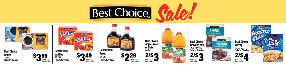 Best Choice Sale!