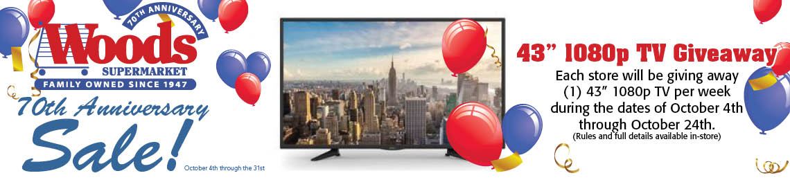 TV give away