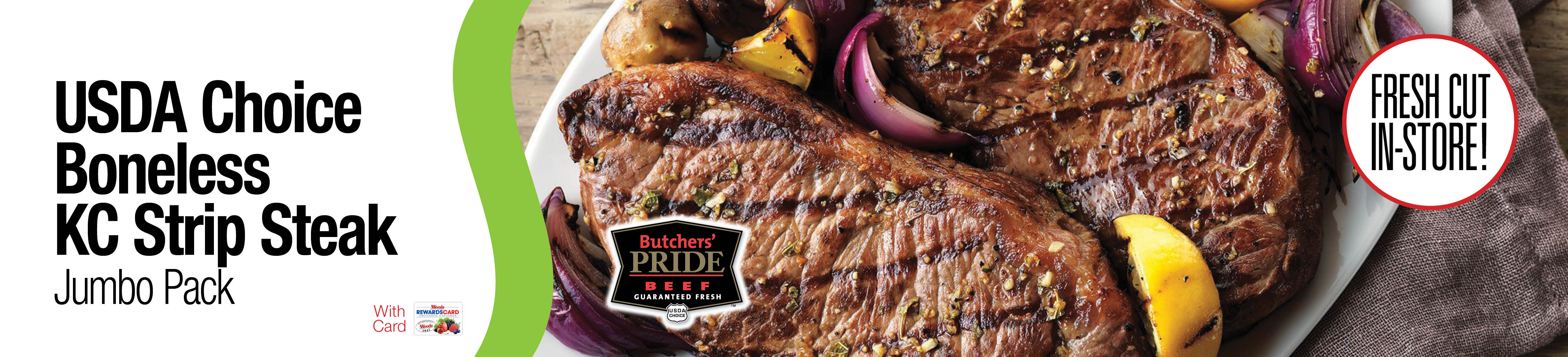 USDA Choice Strip Steak