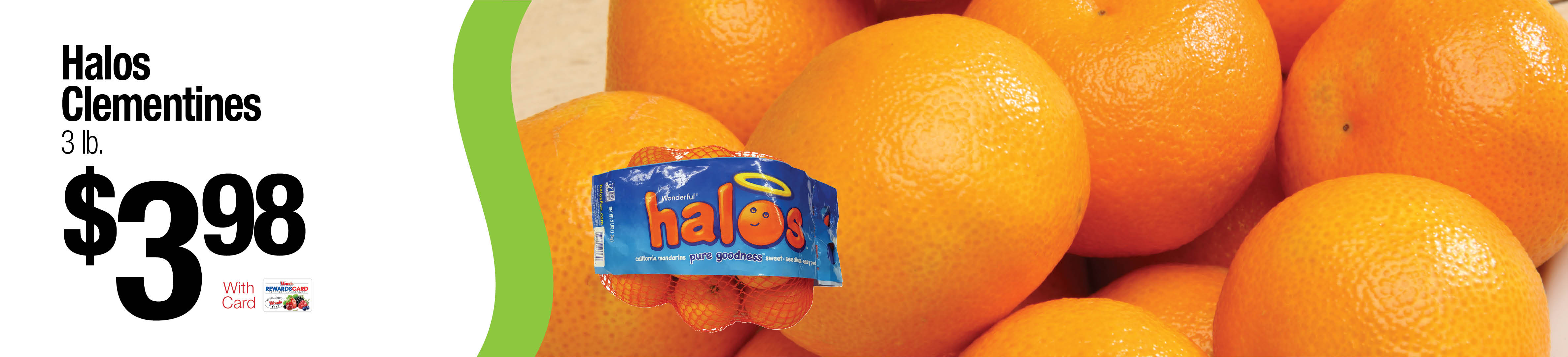 Halos Clementines $3.98