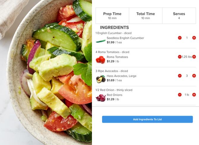 Smart Recipes - Woods Supermarket