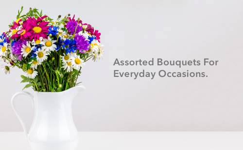 Buy Assorted Bouquets for Everyday Occasions-flowers