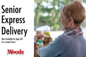 Free Grocery delivery - for Seniors ages 60plus